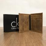 Porta Cartão Calvin Klein - Marrom