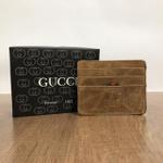 Porta Cartão Gucci - Marrom