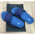 Chinelo Slide Rv Preto Diferenciado Azul