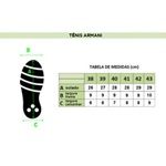 Tenis Armani Preto
