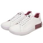 Tenis Dolce Gabbana Branco Rosa✅
