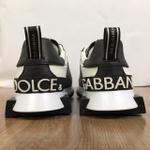 Tenis Dolce Gabbana Branco Preto G6✅