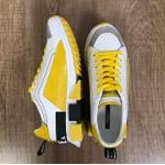 Tenis Dolce Gabbana Branco Amarelo G6✅