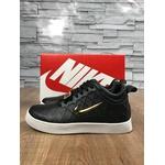 Tênis Nike - Preto Logo Dourado✅