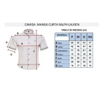 Camisa Manga Curta Ralph Lauren - Rosa