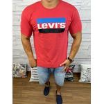 Camiseta Levis Vermelho