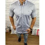 Camisa Manga Curta Tommy Marinho interior Gola Branco
