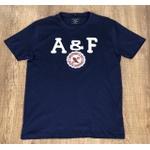 Camiseta Abercrombie Azul Marinho