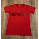 Camiseta Adidas Vermelho