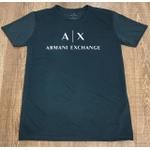 Camiseta Armani Chumbo logo A X