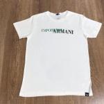 Camiseta Armani - Creme⭐