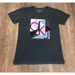 Camiseta Calvin Klein Chumbo⭐