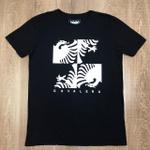 Camiseta Cavalera Preto