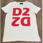 Camiseta Dsquared2 Creme