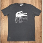 Camiseta Lacoste DFC Grafite