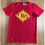 Camiseta Lacoste DFC Vermelha