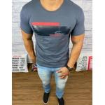 Camiseta Lacoste Chumbo