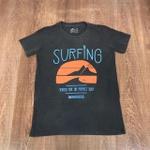 Camiseta OSK - Chumbo Surfing