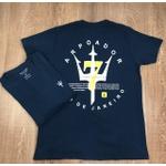 Camiseta Osk - Malhão Azul Marinho