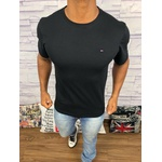 Camiseta Tommy Hilfiger Preta - Diferenciada