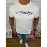 Camiseta Tommy Hilfiger - Diferenciada Creme