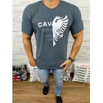 Camiseta Cavalera Cinza