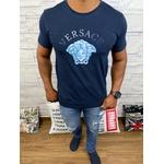 Camiseta Versace Marinho Detalhado