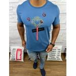 Camiseta Dolce G Cinza Azulado