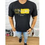 Camiseta CK Preto