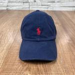 Boné RL Marinho Logo Vermelho