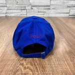Boné RL Cor Azul Bic Logo vermelho