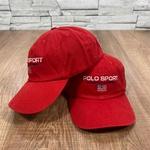 Boné RL Vermelho Logo Branco