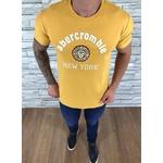 Camiseta Abercrombie Amarelo⭐