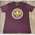 Camiseta Adid Bordô