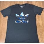 Camiseta Adid Cinza Escuro