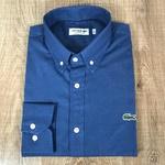 Camisa Social Manga Longa LCT Azul Escuro⭐