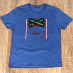 Camiseta Dolce G Cinza Fechado