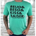 Camiseta Rsv Verde Agua ⭐