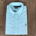 Camisa Manga Curta RL Verde Agua