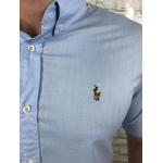 Camisa Manga Curta RL Azul