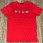 Camiseta Versace Vermelho