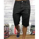 Bermuda Jeans JJ - Preta