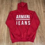 Blusa de Frio Armani Jeans - Vermelho