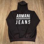Blusa de Frio Armani Jeans - Marrom