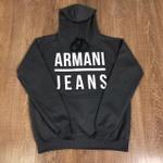 Blusa de Frio Armani Jeans - Cinza