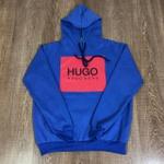 Blusa de Frio Hugo Boss - Azul Bic