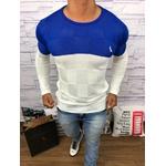 Suéter Rv - Azul c/Branco