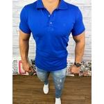 Polo Armani Diferenciada - Azul bic