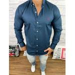 Camisa Manga Longa Ralph Lauren Azul