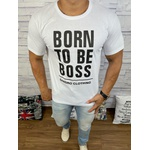 Camiseta Hugo Boss - Branca